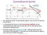 centraliseret kartel