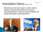 inoculation theory mcguire 1961