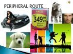 peripheral route
