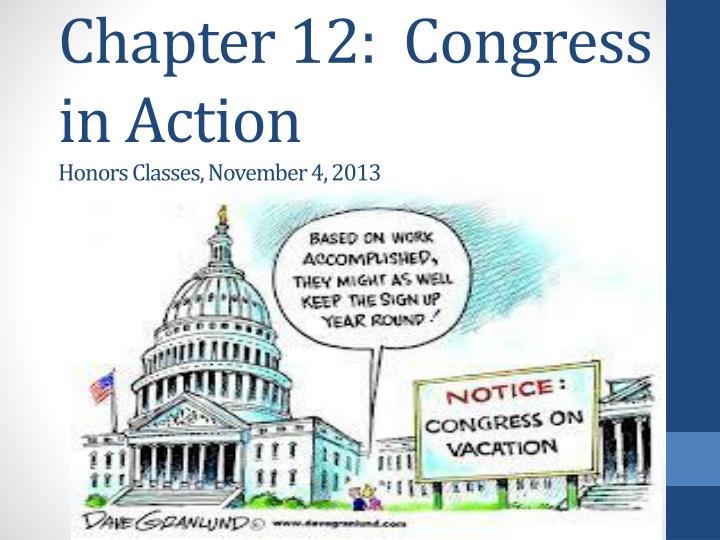 chapter 12 congress in action honors classes november 4 2013 n.