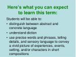 here s what you can expect to learn this term