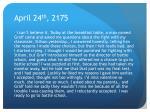 april 24 th 2175