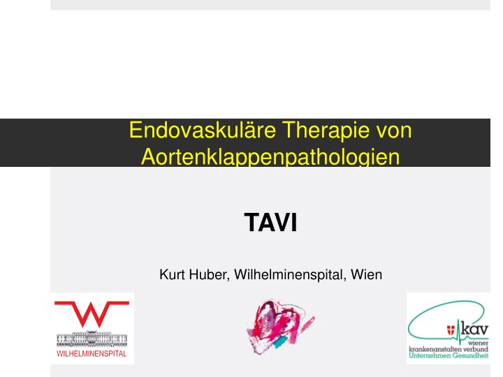 endovaskul re therapie von aortenklappenpathologien n.