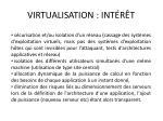 virtualisation int r t1