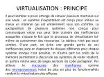 virtualisation principe