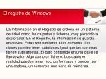 el registro de windows2