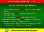 penyakit akibat malfungsi reseptor