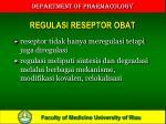 regulasi reseptor obat