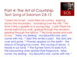 part 4 the art of courtship text song of solomon 2 8 13