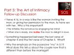 part 5 the art of intimacy follow up discussion3