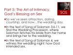 part 5 the art of intimacy god s blessing on sex