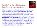 part 5 the art of intimacy text song of solomon 4 5 12
