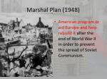 marshal plan 1948