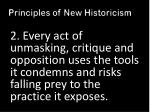 principles of new historicism1