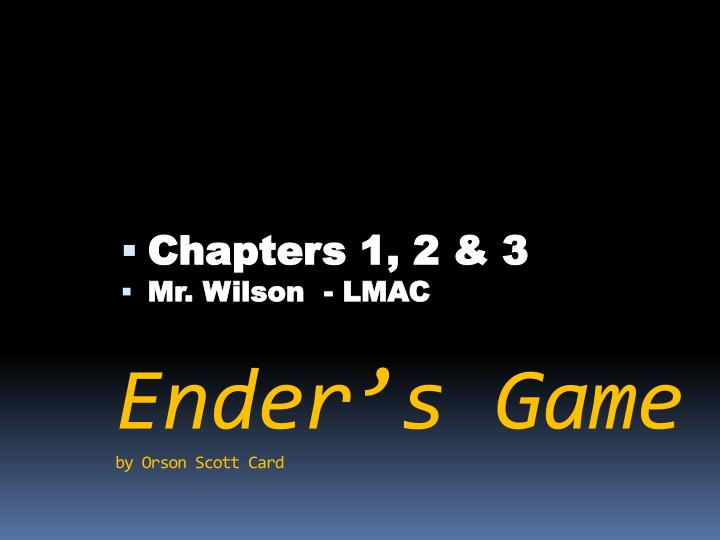ender s game by orson scott card n.