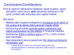 conclusions contributions