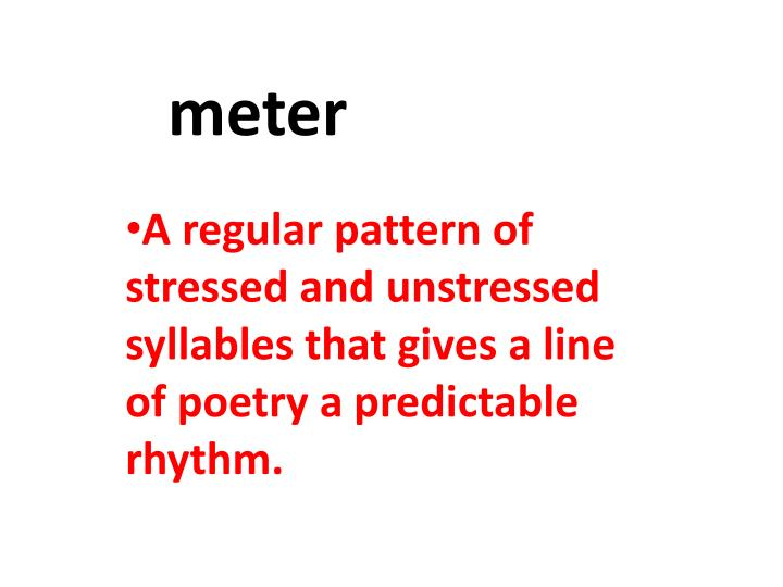Ppt Meter Powerpoint Presentation Free Download Id 2202345 In particular it is worth noting the line that stands alone (line 7). ppt meter powerpoint presentation