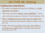 nv type 9 clothing