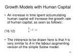 growth models with human capital2