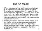 the ak model3
