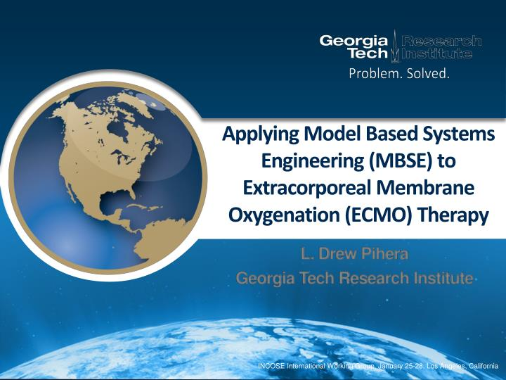 applying model based systems engineering mbse to extracorporeal membrane oxygenation ecmo therapy n.