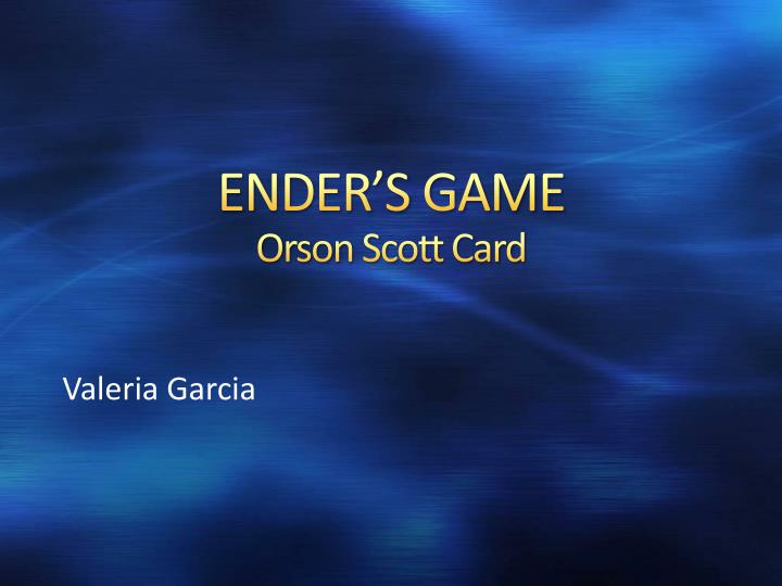 Ender s game orson scott card