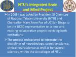 ntu s integrated brain and mind project1