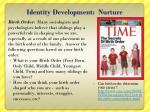 identity development nurture2