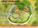 great zimbabwe 600 ad to 1450