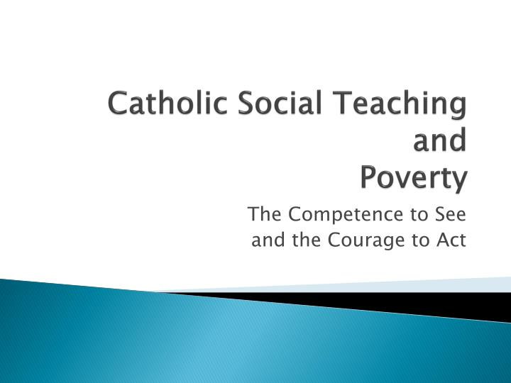 catholic social teaching and poverty n.