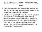 11 9 1941 afc rede in des moines iowa