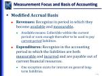 measurement focus and basis of accounting3
