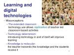 learning and digital technologies