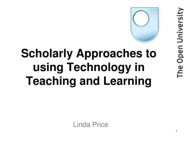 scholarly approaches to using technology in teaching and learning n.