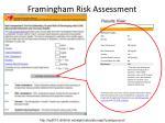 framingham risk assessment