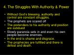 4 the struggles with authority power