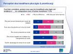 perception des travailleurs plus g s luxembourg