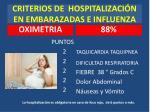 criterios de hospitalizaci n en embarazadas e influenza
