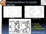 implementation results pr299