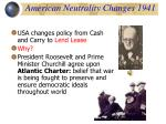 american neutrality changes 1941