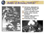 battle of britain 1940 41
