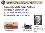 battle of coral sea may 1942