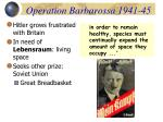 operation barbarossa 1941 45