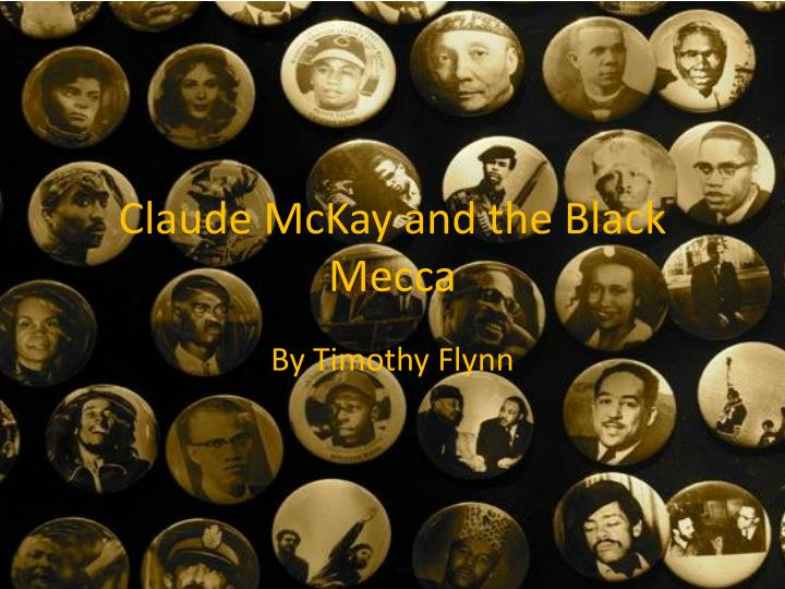 claude mckay and the black mecca n.