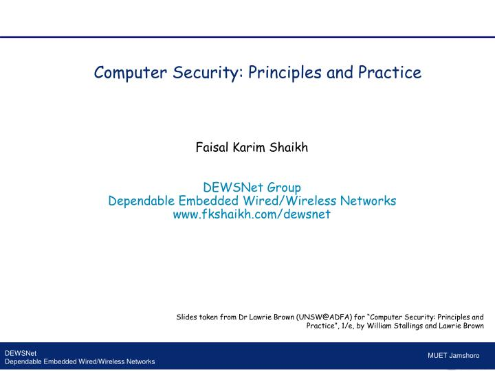 computer security principles and practice n.