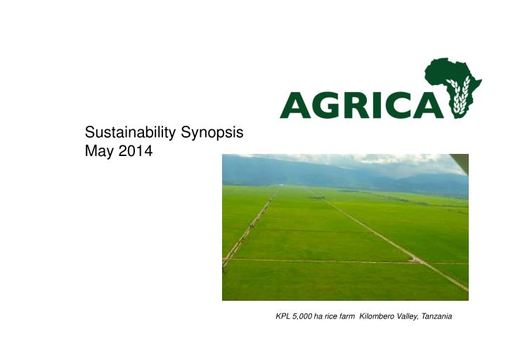 sustainability synopsis may 2014 n.