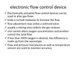 electronic flow control device
