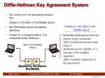 diffie hellman key agreement system3
