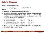 euler s theorem