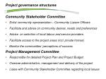project governance structures1